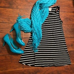 Striped Jersey Tunic Mossimo